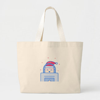 Holiday Gamer Large Tote Bag