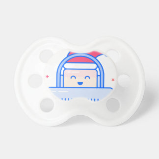 Holiday Gamer Pacifier