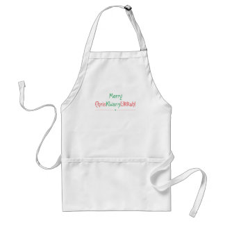 Holiday Geetings in Multiple Ways! Standard Apron