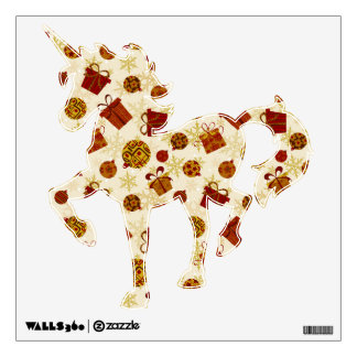 Holiday Gifts & Christmas Ornaments Wall Sticker
