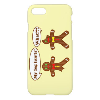 Holiday Gingerbread Humor iPhone 8/7 Case