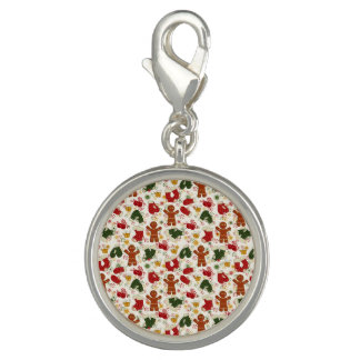 Holiday Gingerbread Pattern Charms
