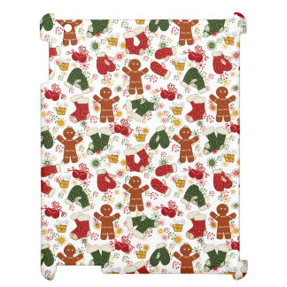 Holiday Gingerbread Pattern Cover For The iPad 2 3 4