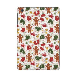 Holiday Gingerbread Pattern iPad Mini Retina Covers