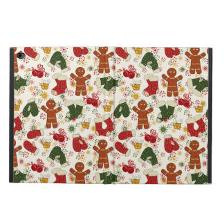 Holiday Gingerbread Pattern Powis iPad Air 2 Case