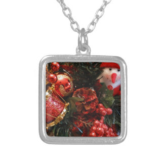 Holiday Glory Silver Plated Necklace