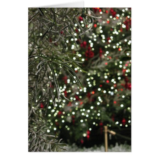 Holiday Greenery Card