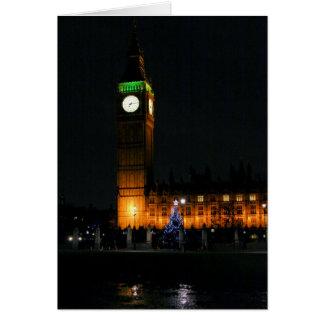 Holiday Greeting Card: Big Ben Christmas Card