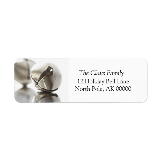 Holiday Greeting Card Return Address Sticker Return Address Label