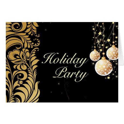 Holiday Greeting Cards, Bellissimo Damask