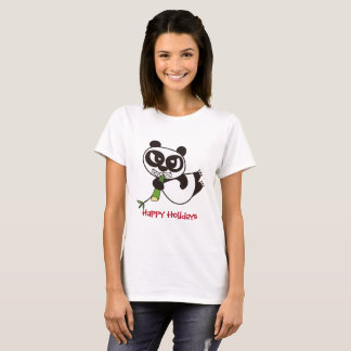 Holiday Greetings from Bamboo Lover T-Shirt