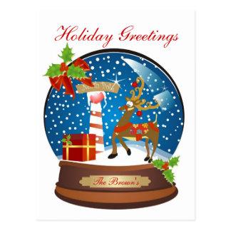 Holiday Greetings Postcard