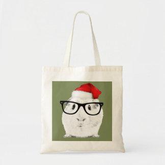 Holiday Guinea Pig Tote Bag