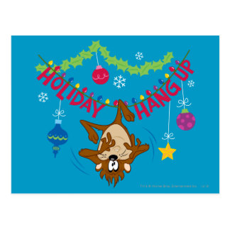 Holiday Hang Up Postcard