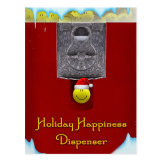 Holiday Happiness Postcard
