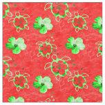Holiday Hawaiian Honu Turtles Fabric