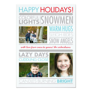 Holiday Headlines Card