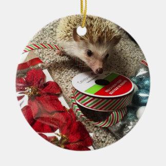 Holiday Hedgehog Ornament
