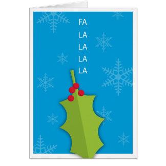 Holiday Holly Card