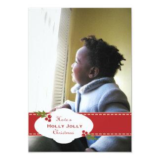 Holiday Holly Jolly Ribbon Card