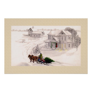 Holiday Home Print