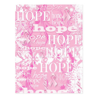Holiday Hope Breast Cancer Awareness Products Postcard