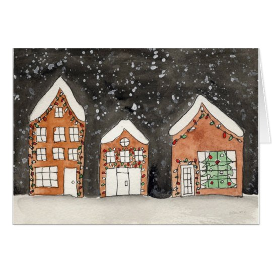 Holiday Houses Card