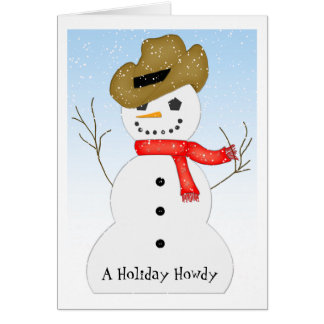 Holiday Howdy Card