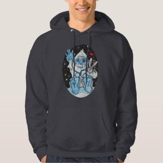 Holiday Hugs Yeti~hoodie Hoodie