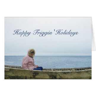 Holiday Humour Greeting Card