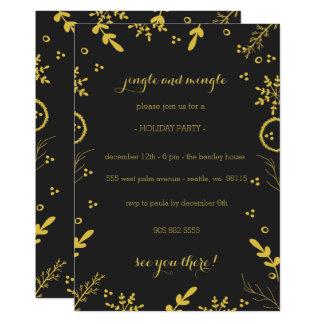 Holiday Invitation Card