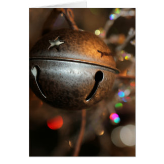 Holiday jingle card
