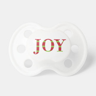 Holiday Joy Pacifier