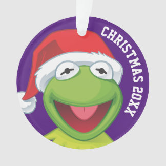 Holiday Kermit 2 Ornament