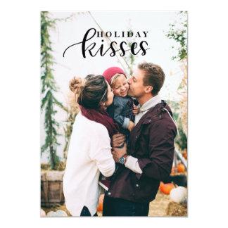 Holiday Kisses card