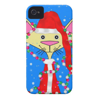 Holiday Kitty iPhone 4 Case-Mate Cases
