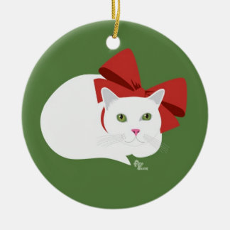 Holiday Kitty Ornament