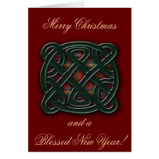 Holiday Knot Card