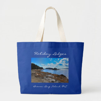 Holiday Ledges Jumbo Tote