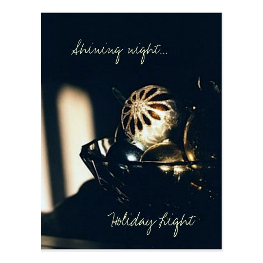 Holiday Light Postcard