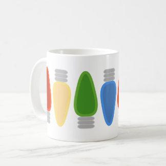 Holiday Lights Mug - Primary Colors