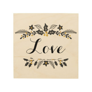 Holiday, Love sign decoration