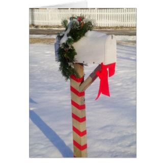 Holiday Mailbox Card