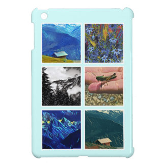Holiday Memories Six Photo Instagram Collage iPad Mini Case