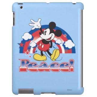 Holiday Mickey | Patriotic Peace Rainbow