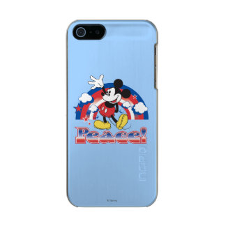 Holiday Mickey | Patriotic Peace Rainbow Incipio Feather® Shine iPhone 5 Case