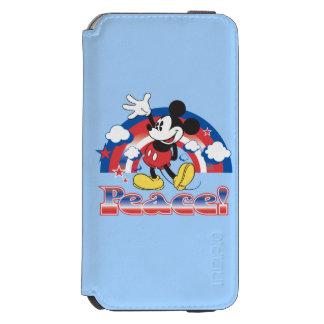 Holiday Mickey | Patriotic Peace Rainbow Incipio Watson™ iPhone 6 Wallet Case