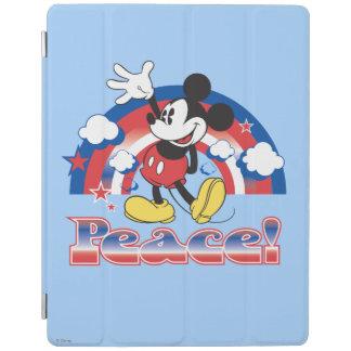 Holiday Mickey | Patriotic Peace Rainbow iPad Cover