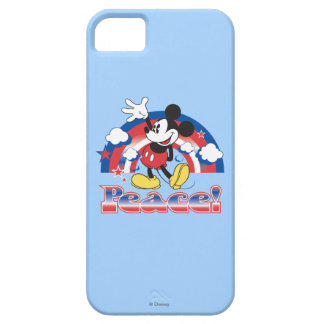 Holiday Mickey | Patriotic Peace Rainbow iPhone 5 Cases