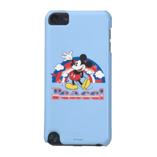 Holiday Mickey | Patriotic Peace Rainbow iPod Touch 5G Case